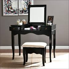 Wood Vanity Table Desk Chairs White Makeup Desk Chair Table Black Vanity Set