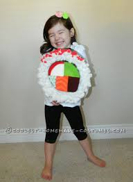 Halloween Costumes 10 Girls 10 Costumes Images Homemade Costumes Sushi