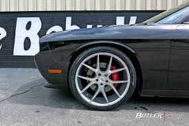 Dodge Challenger Tire Size - dodge challenger with 22in savini bm14 wheels exclusively from