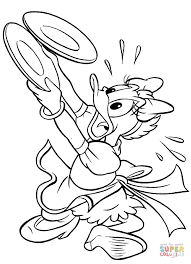 daisy duck coloring pages free coloring pages
