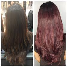 Can You Dye Halo Hair Extensions by Halo Hair Extensions Rose Burgundy Balayage Ombré U2013 Hottie Hair