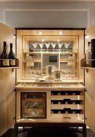 Home Bar Interior Design by Private Residence South Kensington London Fiona Barratt