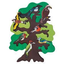 european bird tree puzzle manine montessori