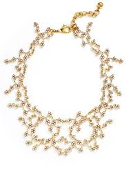 ivory pearl ivory pearl jackie necklace by lulu for 60 rent the runway