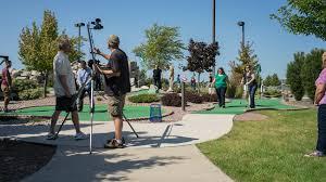 mini golf bureau fox cities convention and visitors bureau shoot at badger