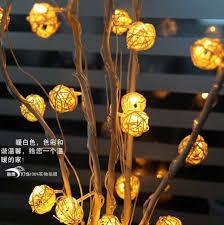 long branch tree lighting aliexpress com buy 25 dried flowers tree light home living room