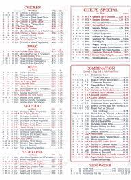 chen u0027s garden menumenu world menu world