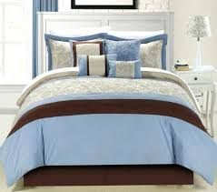 Blue And Brown Bed Sets Light Blue Comforter Sets Light Blue Bedding Sets For Master