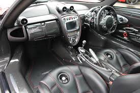 pagani interior right hand drive pagani huayra comes at a cool 2 37 million