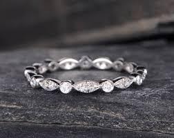 gold diamond wedding band wedding bands etsy