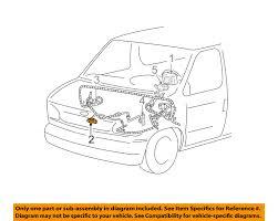 ford oem airbag air bag srs front impact sensor f7uz14b004da ebay