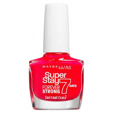 maybelline forever strong super stay gel nail rose salsa 10ml 490