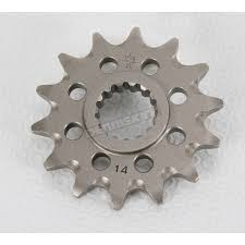 jt sprockets 14 tooth lightweight front sprocket jtf1901 14sc