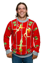 ugliest sweater pole elves sweater