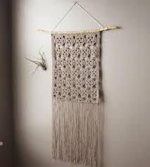 stella lace crochet wall hanging home decor u0026 lighting lemon