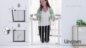 Child Stair Gates Argos by Lindam Sure Shut Axis Safety Gate Youtube
