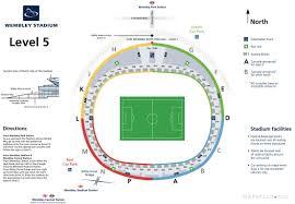 wembley stadium london seating plan 12 level 2 club wembley