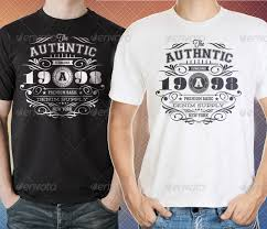 authentic vintage t shirt templates by ideaofart graphicriver