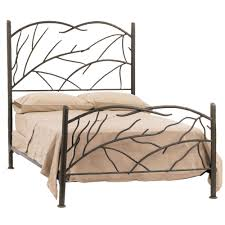 bed u0026 bath vintage wrought iron bed frames and simple bed sheet