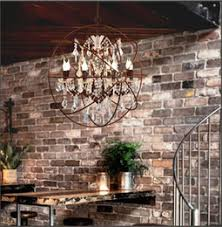 iron globe chandelier online iron globe chandelier for sale