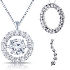 all diamond necklace images 9 best dancing diamond jewelry images diamond jpg