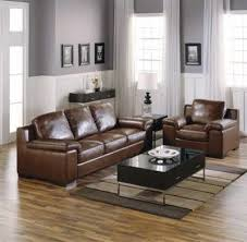 Leather Sofas  Leather Living Room Furniture Sets - Leather family room furniture