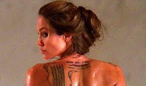 birthday angelina jolie u0027s 9 tattoos and their explanations