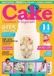 Cake Decoration & Sugarcraft Magazine June 2016 Subscriptions
