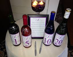 wine bottle guestbook wine bottle wedding guest book dj albany saratoga troy ny