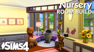 4 Room House by The Sims 4 Room Build Nursery Youtube