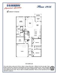 Dh Horton Floor Plans Dr Horton Homes Clements Ranch Clements Ranch