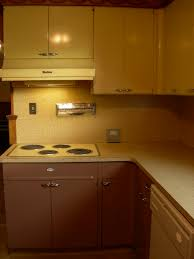Kitchen Cabinet History 30 Photos Of Vintage Lyon Metal Kitchen Cabinets And Some