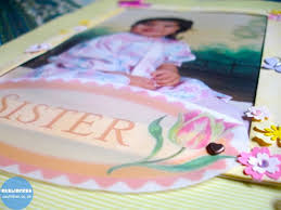 baby sister u0027 themed scrapbook zaufishan