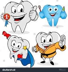 halloween background dental funny tooth costumes on white background stock vector 82131448