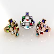 mothers day rings rings mothers rings nana sterling silver tic tac toe s