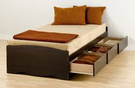 Simple King Platform Bed Frame Plans by Bed Frames Twin Storage Bed King Platform Bed With Storage Twin