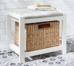 Bathroom Stools With Storage Ultimate Storage Stool Pottery Barn