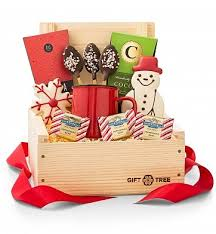 miami gifts delivered by gifttree hot chocolate crate coffee tea gift baskets