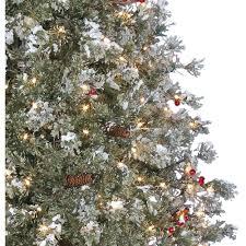 holiday time pre lit 7 5 u0027 covington fir artificial christmas tree