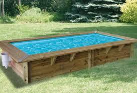 piscine bois semi enterree 3 piscine hors sol en bois mon