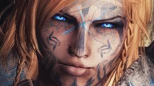 wallpaper face model portrait blue eyes glasses wizard the