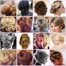 buns hair easy step by step hair buns style flowerfairy5
