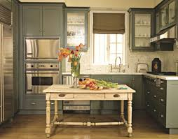 ideas to paint kitchen cabinets painted kitchen cabinets ideas to create a caribbean decor rooms