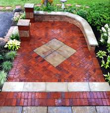 Unilock Suppliers Unilock Rivenstone Patio With Pinehall Pavers Seat Wall Brick