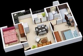 650 Square Feet Floor Plan 400 Sq Ft 1 Bhk 1t Apartment For Sale In Janaadhar Builder Shubha