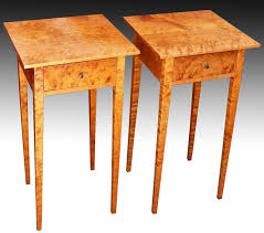 shaker end table plans shaker furniture to fit birdseye end tables