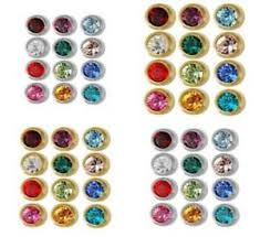 studex earrings studex earrings birthstone sensitive ears surgical stainless studs