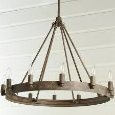 pottery barn knock off lighting lighting wine barrel chandelier knock off in noble rustic metal
