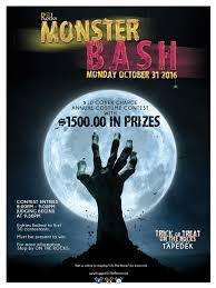 Halloween Monster Bash by Huggo U0027s On The Rocks Kailua Kona Casual Dining2016 Monster Bash