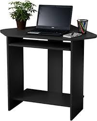 Home Office Corner Desks Deal Alert Fineboard Home Office Compact Corner Desk Black